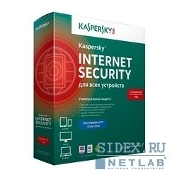 Антивирус Касперского KL1941RBCFS Kaspersky Internet Security Multi-Device Russian Edition. 3-Device 1 year Base Box