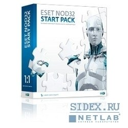 ESET NOD32 START PACK 1ПК на 1 год (NOD32-ASP-NS) (коробка)