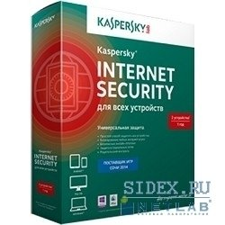 Kaspersky Internet Security Multi-Device Russian Edition 2-Device 1 year Base Box (KL1941RBBFS)