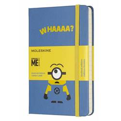 Блокнот Moleskine Limited Edition MINIONS LEMI01MM710B29 Pocket 90x140мм 192стр. линейка голубой